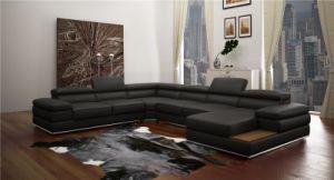 Foshan Popular Leather Corner Sofa (L066) pictures & photos