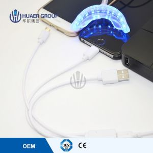 16PCS Blue Light Dental LED Curing Light, Mini LED Teeth Whitening Light pictures & photos