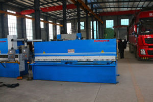 4*2500 Hydraulic Front Feeding CNC Swing Shearing Machine pictures & photos