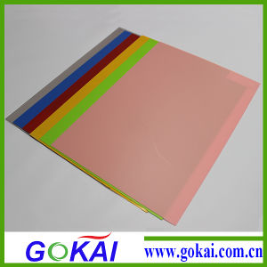 0.5mm Plastic Transparent PVC Rigid Sheet for Thermoforming pictures & photos