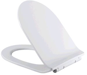 Fashion Design High Gloss PP Toilet Seat pictures & photos