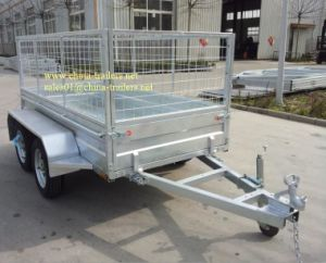 Box Trailer Tr0305 Without Cage pictures & photos