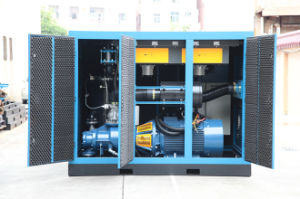 Oil Injected Rotary Water Cooling Screw Air Compressor (KF160-08) pictures & photos