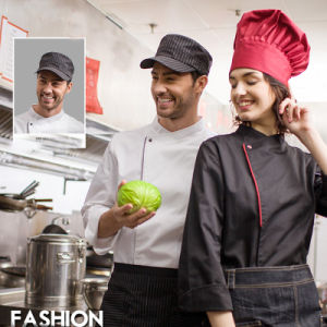 Men′s Restaurant Uniform Long Sleeve Chef Uniform for Restaurant Cafe pictures & photos