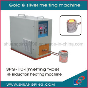 Gold and Silver Melting Machine Spg-10-I pictures & photos