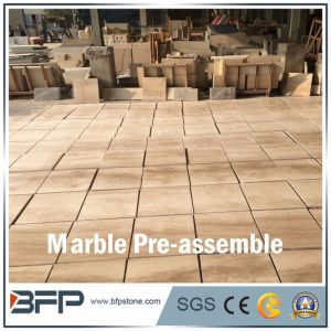 Marble Tile--Cut-Tosize and Pre-Assemble for Floor and Wall Tile pictures & photos