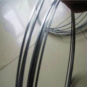 High Tensile Spring Galvanized Flat Steel Wire pictures & photos