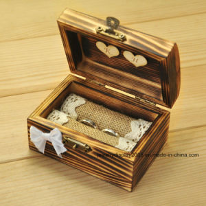 Personalized Wedding Ring Box, Rustic Ring Bearer Storage Box pictures & photos