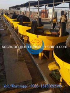 Gold Grinding Wet Pan Mill Wet Type