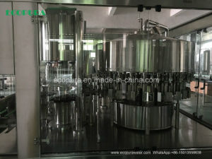Automatic Bottled Water Filling Machine (3-in-1 Bottling Machine HSG16-12-6) pictures & photos