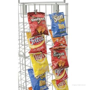 Retail Store Metal Snack Food Storage Display Market Shelf pictures & photos