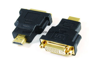 DVI24+1 (24+5) Female to HDMI Male Adapter pictures & photos