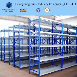 Q235 Steel Medium Duty Warehouse Storage Shelving Manufacturer pictures & photos