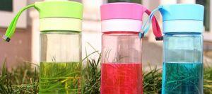 Aquarium Bottle Machine Plastic Cup with Cover in Philippines pictures & photos