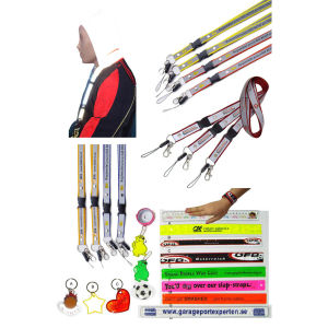 Professional Manufacturer of Reflective Printed Lanyard pictures & photos
