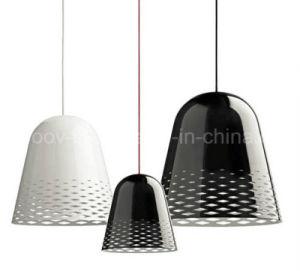 Modern Engraving Patterns Art Aluminum Christmas Bell Dining Room LED Pendant Light