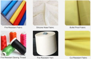 40s/3 Fire Retardant Meta Aramid Spun Yarn for Special Industry pictures & photos