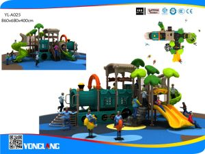 Luxury Age of Steam Series and Climber Combined Slide Play Equipment (YL-A025) pictures & photos