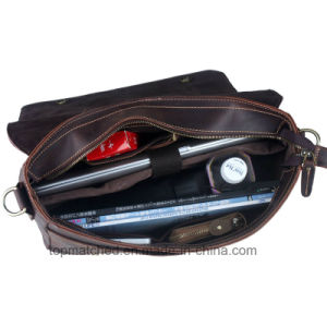 Leather Laptop, PU Leather Laptop Bag, Leather Mens Laptop Bags pictures & photos