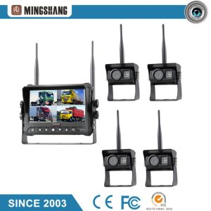 "7"" Wireless System Camera Kit with IP69k Waterproof Rear View Car Camera, SD Cards Slot pictures & photos"
