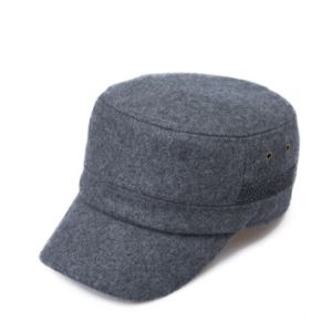 Winter Wool Flat Top Cap pictures & photos
