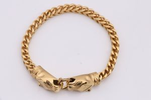 Mens Stainless Steel Lion Bracelet pictures & photos