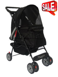High Quality Pet Products 3-Wheels Pet Stroller Bb-PS01 pictures & photos