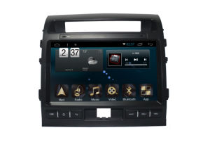 Android 6.0 System Car Navigation for Land Cruiser 10.1 Inch Touch Screen with GPS/Bluetooth/TV/MP3/MP4