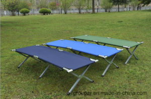 Aluminium Military Folded Camping Bed pictures & photos