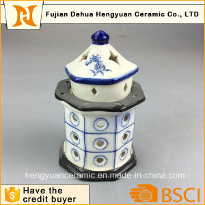 Lighthouse Design Ceramic Incense Burner pictures & photos