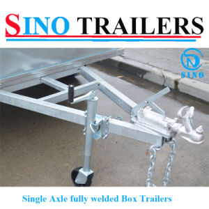 New Type Factory Direct Fully Welded Single Axle Trailers
