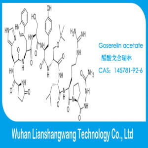 Goserelin Acetate White Powder CAS: 145781-92-6 for Treating Breast Cancer pictures & photos