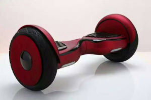 10 Inch Rubber Tire Two Wheel Balance Scooter Hoverboard pictures & photos