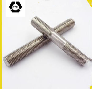 DIN938 Stainless Steel Threaded Stud for Black pictures & photos