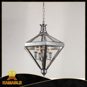 Diamond Type Modern Home Pendant Lamp (KM0074P-4) pictures & photos
