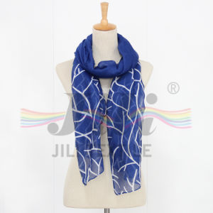 Corals Grain Pattern Viscose Long Hijab Scarf Similar to Silk Scarf pictures & photos