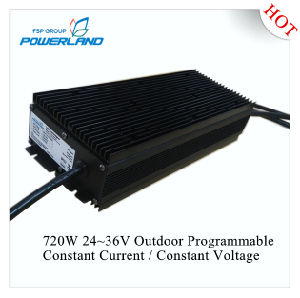720W 20A Outdoor Programmable Dimmable Constant Current Waterproof LED Driver pictures & photos