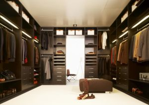 Melamine Wooden Cloth Closet Bedroom Wardrobe pictures & photos