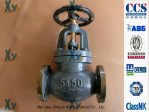 Marine Cast Iron Globe Valve JIS F7309 F7377 16k pictures & photos
