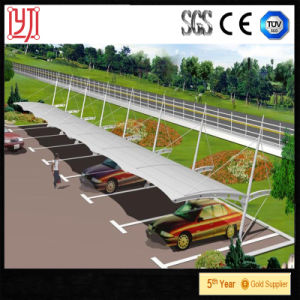 Tensile PVDF Membrane Roof Steel Structure Car Parking Tent Carport Tent pictures & photos