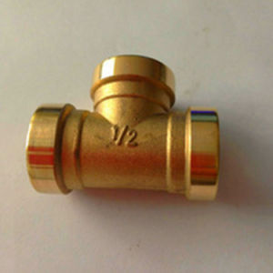 Pipe Fitting Copper Tee pictures & photos
