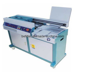 55H-A3 A3 size China manufacturer glue binder machine / glue binding machine /booking binding machine pictures & photos