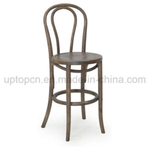 Famous Design High Bar Chair Furniture Wooden Thonet Chair (SP-EC448) pictures & photos