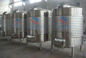 Stainless Steel Wine Storage Tank with Side Manhole pictures & photos