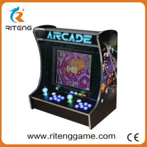 19 Inch LCD Desk Arcade Game Machine with 520in1 Jamma Board pictures & photos