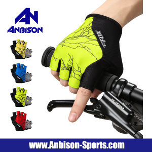 Outdoor Cycling Bikes Moutain Road Half Finger Gloves pictures & photos