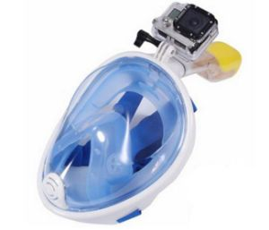 Full Face Free Breathing Design with Anti-Fog Snorkel Mask pictures & photos