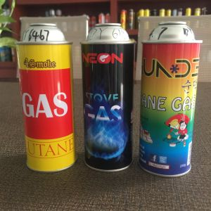 Lighter Butane Gas Tin Can Foam Aerosol Can