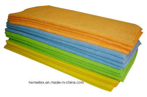 Microfiber Car Cleaning Towel/Cloth pictures & photos