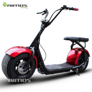 Aimos Hl 60V 1000W 18′′ Cheap Electric Scooter with Wide Tire pictures & photos